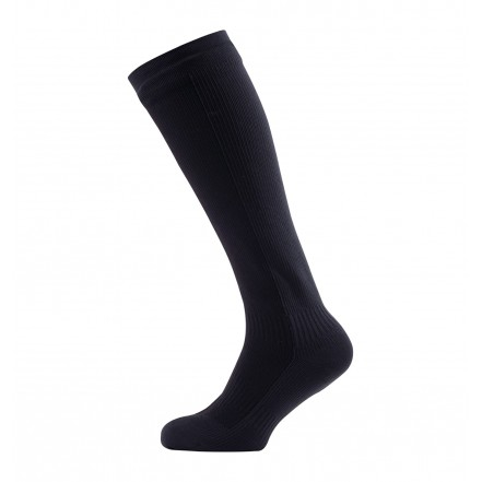 Sealskinz Hiking Mid Knee Socks in Black