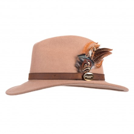 Hicks & Brown Suffolk Fedora (Gamebird Feather)