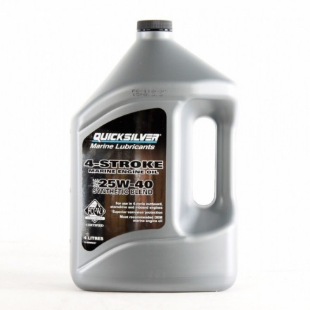 Quicksilver 25w40 Synthetic Engine Oil