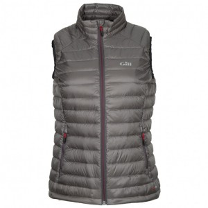 Gill Womens Hydrophobe Down Gilet Pewter