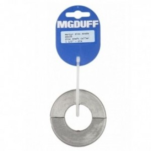 MG Duff Zinc Shaft Collar Anode