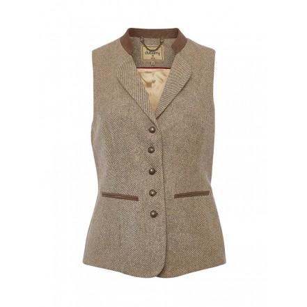 Dubarry Ladies Spindle Tweed Waistcoat
