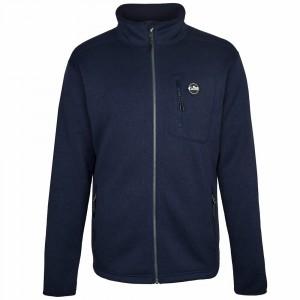 Gill Mens Knit Fleece Jacket