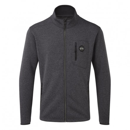 Gill Mens Knit Fleece Jacket