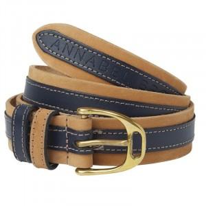 Annabel Brocks Leather Contrast Belt