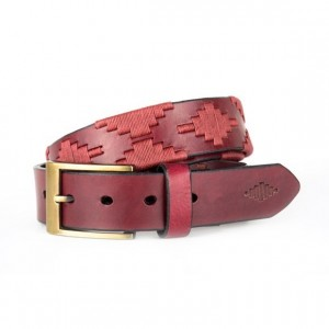 Pampeano Vino Leather Polo Belt