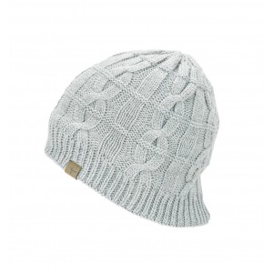 Sealskinz Cold Weather Cable Knit Beanie Grey