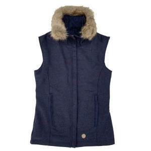 Annabel Brocks Tweed Gilet