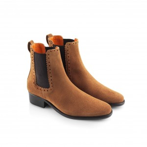Fairfax & Favor Brogued Chelsea Ankle Boot