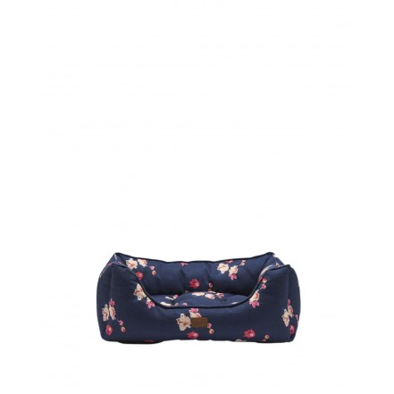 Joules Floral Percher Square Pet Bed