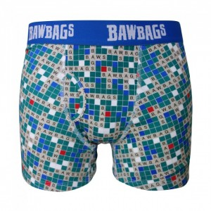 Bawbags Scrabbawl Boxer Shorts