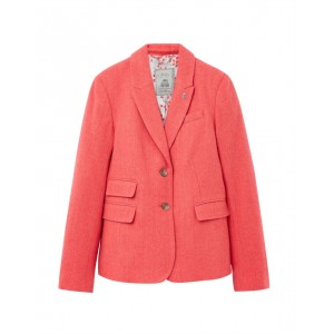 Joules Wiscombe Peaked Collar Tweed Blazer