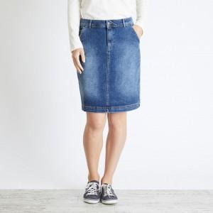 Weird Fish Ria Denim Skirt