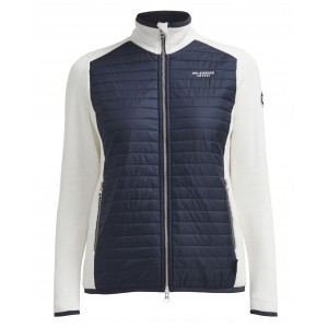 Holebrook Mimmi Fullzip Windproof Offwhite/Navy