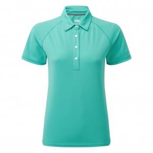 Gill Women's UV Tec Polo Turquoise