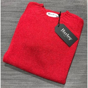 Harley Mens Rennie Crew Red