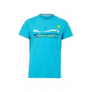 Weird Fish Kitesurfers Organic Cotton T-Shirt