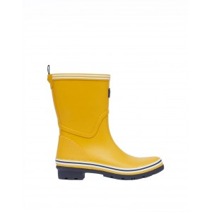 Joules Coastal Welly Gold