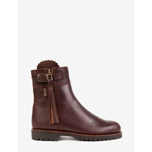 Penelope Chilvers Cropped Lined Leather Boot