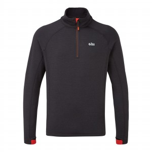 Gill OS Thermal Zip Neck Graphite Large
