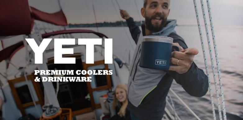 Yeti Premium Coolers & Drinkware